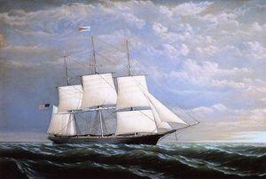 Whaleship 'Syren Queen' of Fairhaven