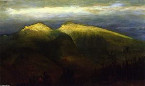 The White Mountains, from Randolph Hill