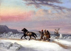 The Winter Crossing from Levis to Quebec