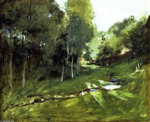 Wooded Landscape (also known as Les Chênes)