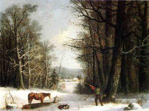 Woodsman in Winter