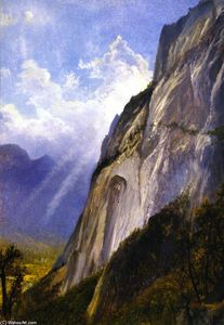 Yosemite Valley from a Cliff