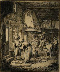 The Peasant Settling His Debt