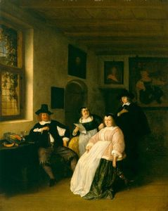 The De Goyer Family and the Painter