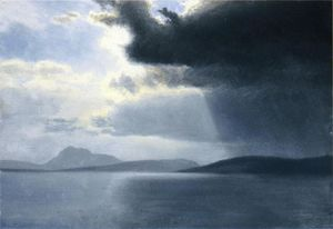 Approaching Thunderstorm on the Hudson River