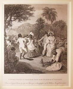 A Negro Festival Drawn From Nature In The Island Of St Vincent