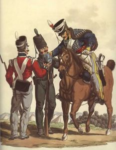 3rd Hussars, Infantry and Light Infantry, King's German