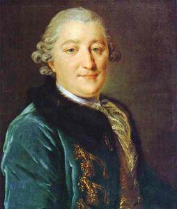 Porträt von Grafen Ivan G. Orlov