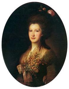 Portrait Of Countess Elizaveta Santi