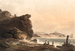 Scarborough From The Rocks