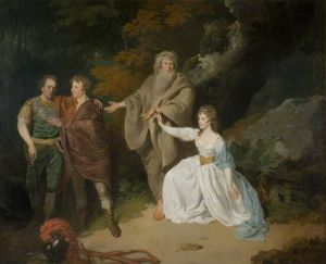 A Scene From Shakespeare's 'the Tempest'