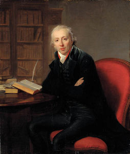 Portrait Of A Gentleman, Said To Be The Poet Roger Delile, Small Three-quarter-length, In A Black Jacket, Seated At A Desk In A Study