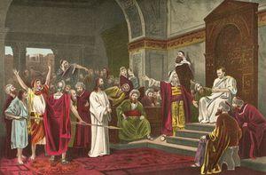 Christ Before Pilate -