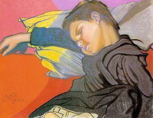 Sleeping Mietek