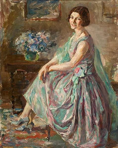 Lady In An Interior