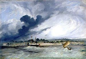 Copang Bay, The Messenger At Anchor