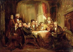Sir Walter Scott And His Literary Friends