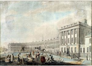 The Completion Of The Royal Crescent,