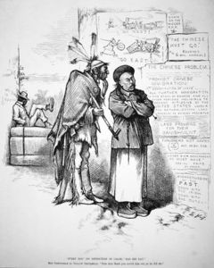 Cartoon Published In 'harper's Weekly'
