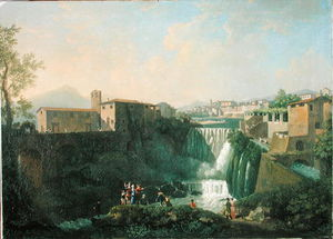 A View Of Tivoli, C.1750 - (55)