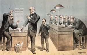 Mr Gladstone And His Clerks