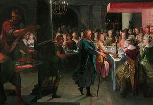 Dice Offre Un Banquet A Francus
