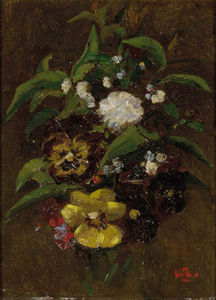 Bouquet Met Viooltjes