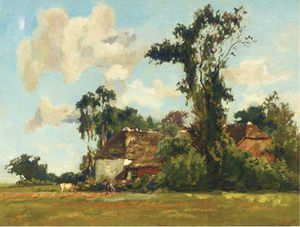 Summer - Farmhouses Amongst Trees