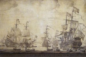 Council Of War On Board 'de Zeven Provincien', The Flagship Of Michiel Adriaensz De Ruyter, On 10 June