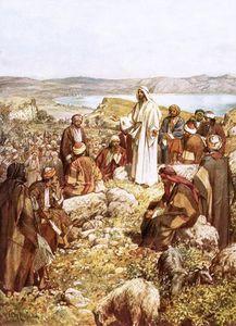 キリストはこの弟子と他人に説教します