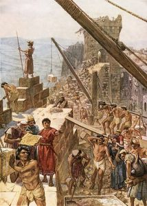 Rebuilding The Wall Of Jerusalem Under Nehemiah