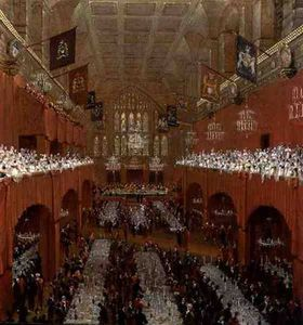 Banquet At Guildhall
