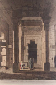 Ruins Of The Palace, Madura, Part Of The Interior Of An Hindoo Temple,at Deo, In Bahar, Interior Of The Temple Of Mandeswara Near Chaynpore, Bahar, Das Avatara