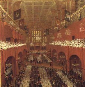 The Allied Sovereigns Banquet At Guildhall