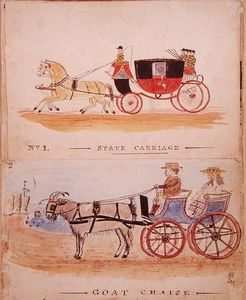 The State Carriage And The Goat Chaise