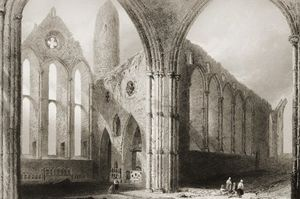 Interior Of Hore Abbey,