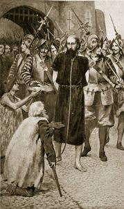 George Wishart Led To Execution