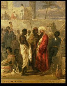 The Slave Market At Cairo