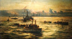 Liberty Men Landing From Spithead
