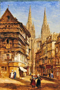 St Corentin Of Quimper Cathedral