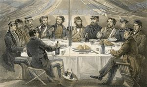 A Christmas Dinner On The Heights Before Sebastopol