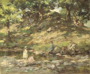 Children In A Glen