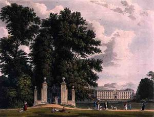 Entrance To The Avenue From Clare Hall Piece