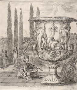 Le Jeune Cosme Iii De Medicis Dessinant Le Vase Medicis