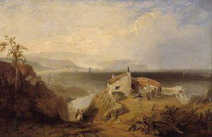 The Mulgrave Alum Works At Sandsend, Yorkshire Coast