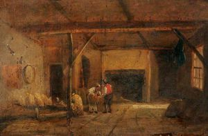 An Interior Of An Old Bakehouse, Bank Street, Norwich