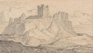 Bamborough Castle, Northumberland -
