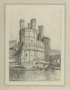 The Eagle Tower, Caernarvon Castle, North Wales