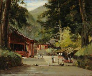 Entrance To The Mausoleum Of Jyemiten, Nikko, Japan