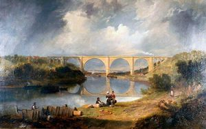 Victoria Bridge Over The River Wear